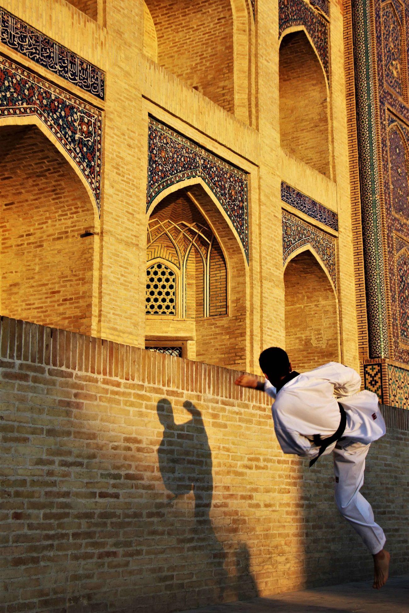 Taekwondo Buchara Mir-Arab-Medrese Fotowettbewerb