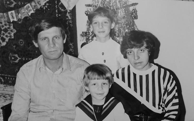 Familie Berger. Foto aus dem Privatarchiv