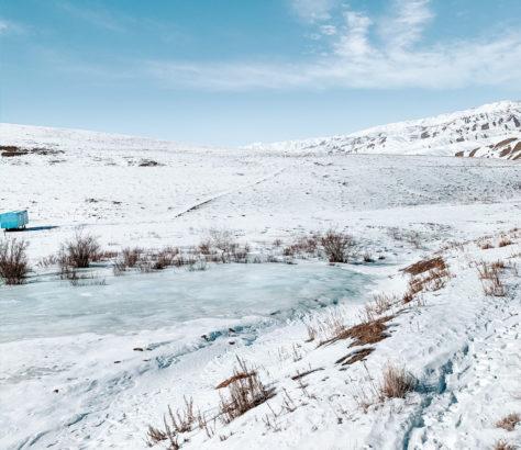 kirgistan Naryn winter