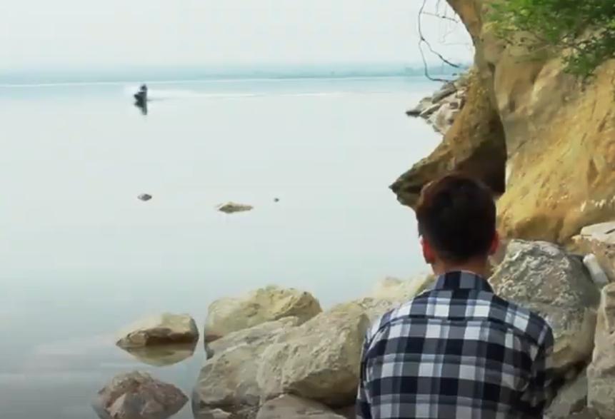 """""""Ohrenbetäubende Stille"""" - Screenshot aus dem Dokufilm"""