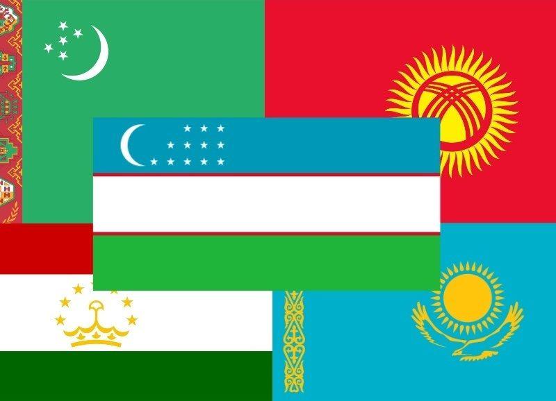 Flaggen Zentralasien