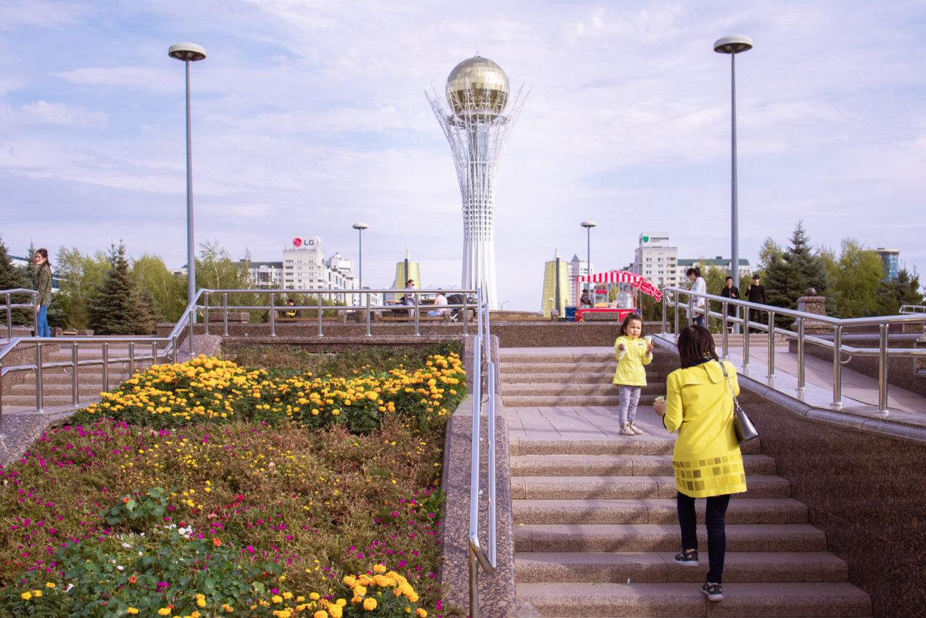 Bild des Tages Antoine Béguier Kasachstan Nur-Sultan Bauwerk