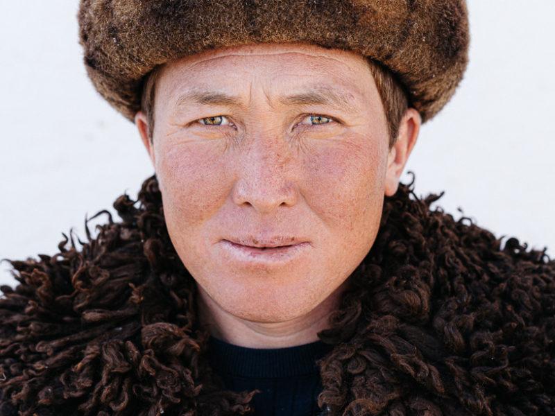 Bild des Tages Kirgistan Ak-Talaa Kok Boru Portrait