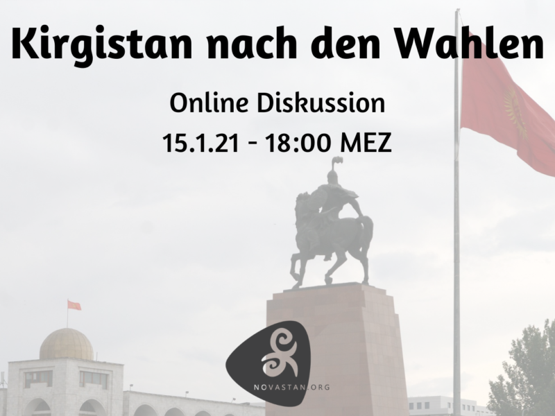 Kirgistan nach den Wahlen Online Event