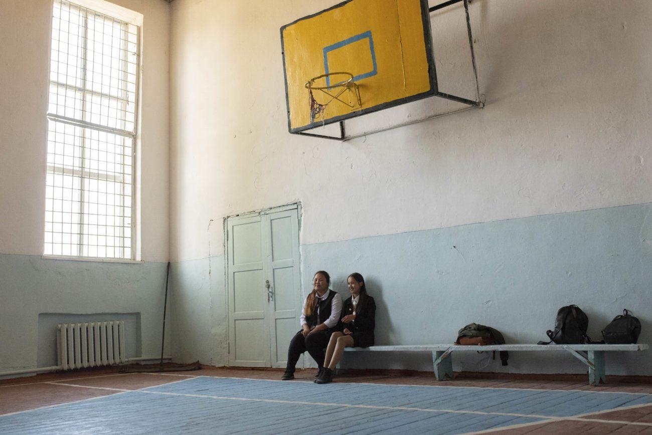 Bild des Tages Kirgistan Irina Unruh Sport