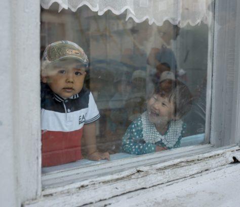 Bild des Tages Kinder Irina Unruh Kirgistan