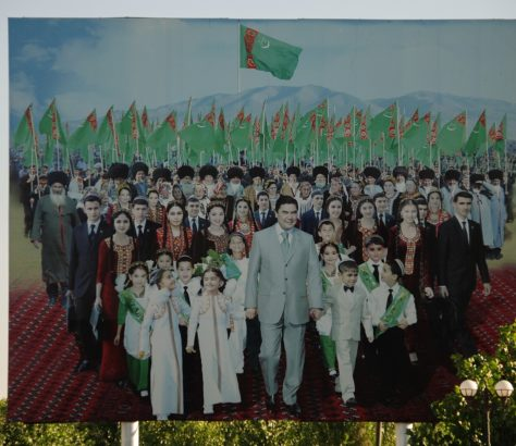 Turkmenistan turkmenbashi Niyazov Gurbanguly Berdimuhamedov