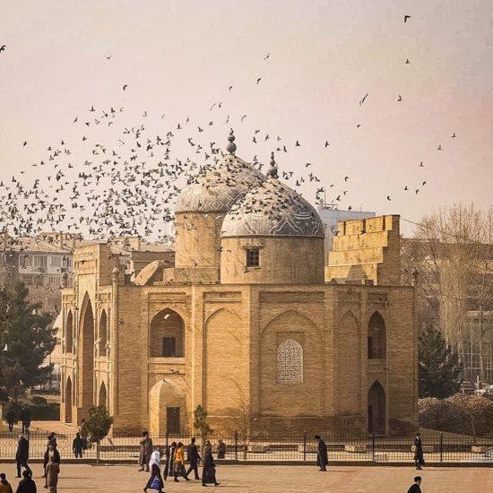 Bild des Tages Tadschikistan Khujand Mausoleum