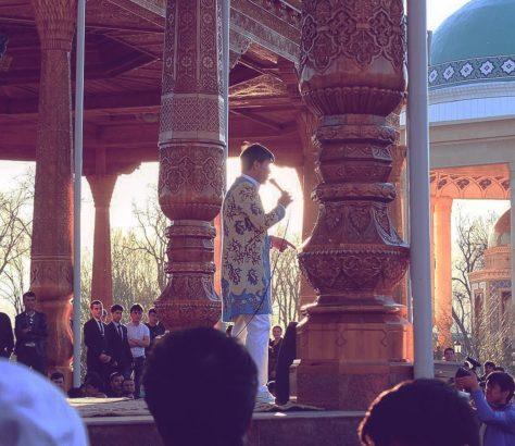 Bild des Tages Tadschikistan Konzert