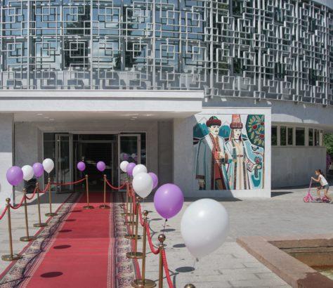 Kasachstan Almaty sowjetische Architektur Hochzeitspalast