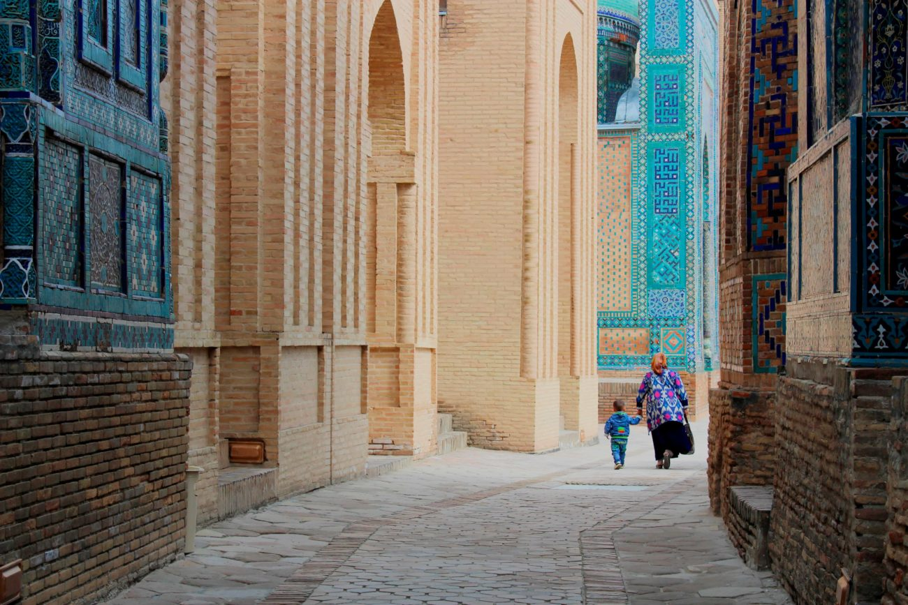 Usbekistan Spaziergang Bild des Tages Samarkand