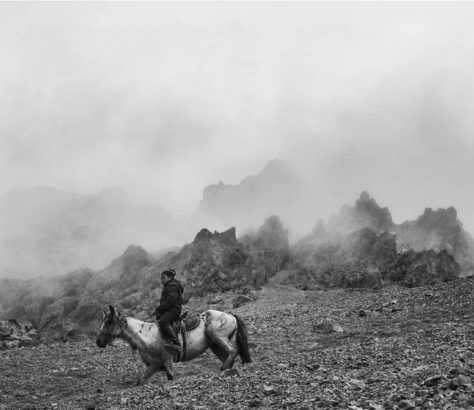 Bild des Tages Kirgistan Berge
