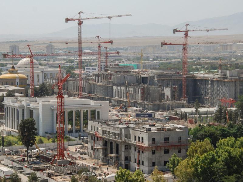 Bild des Tages Turkmenistan Aschgabat Arkitechture