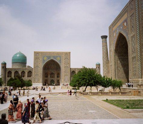 Usbekistan Medrese Registan