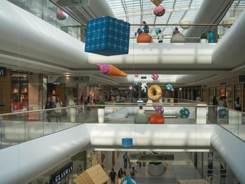 Shopping Mall Almaty Kasakhstan