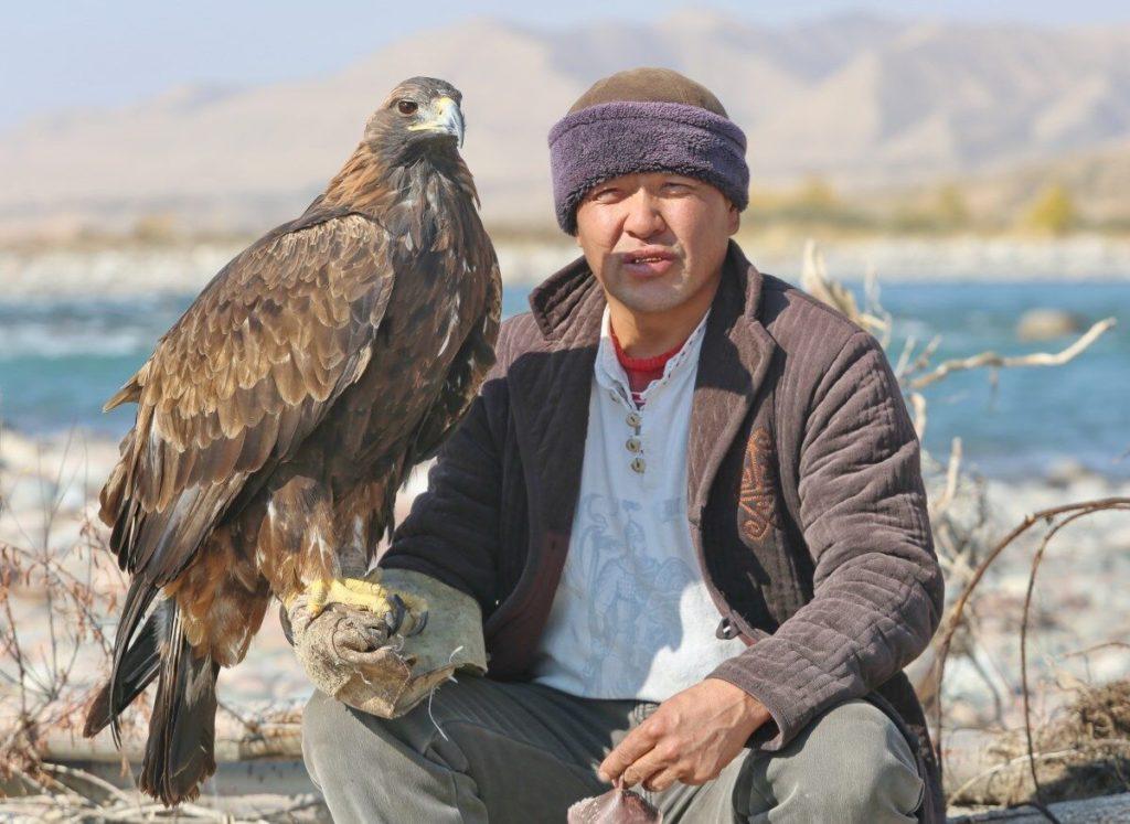 Adlerjäger und Steinadler