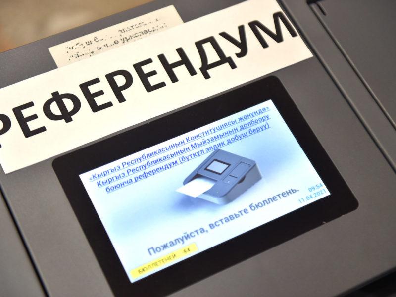 Referendum Kirgistan