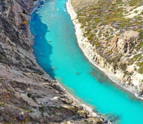 Naryn Fluss Kirgistan
