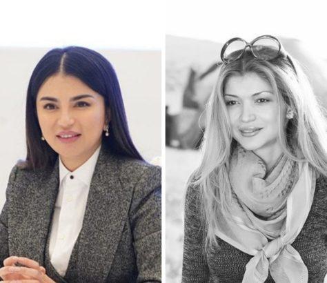 Karimova und Mirziyoyeva
