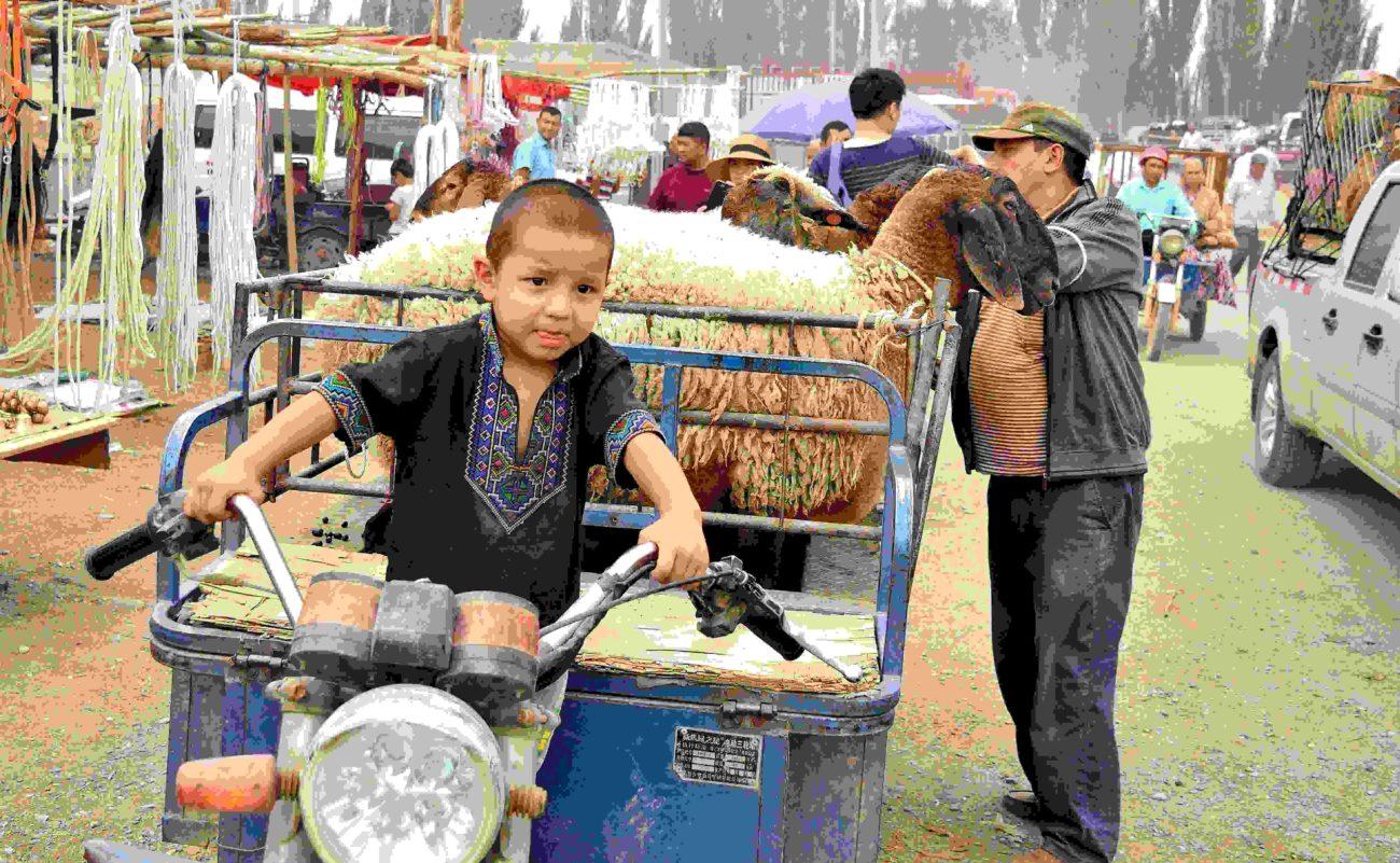 Basar Kashgar China Xinjiang Uyghur