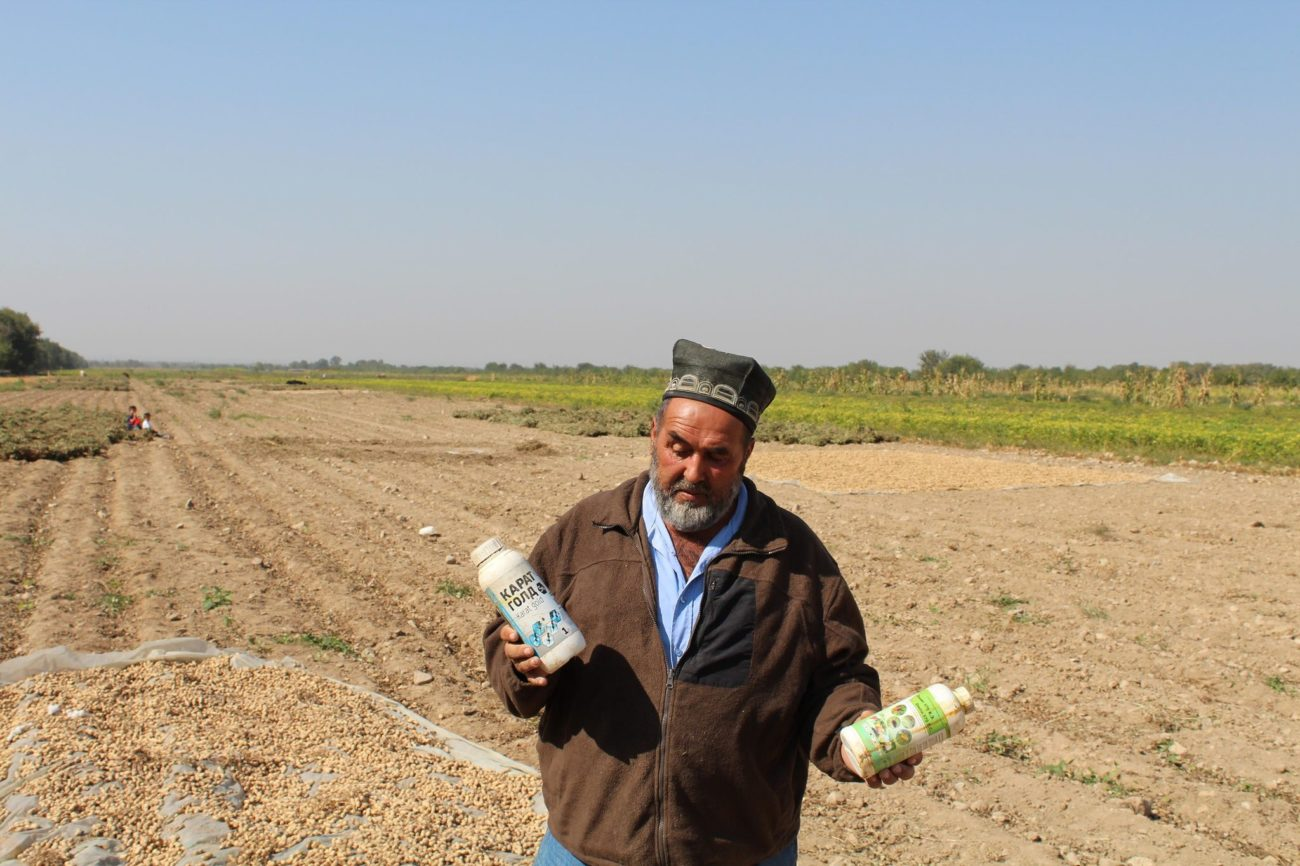 Bauer Pestizide Tadschikistan