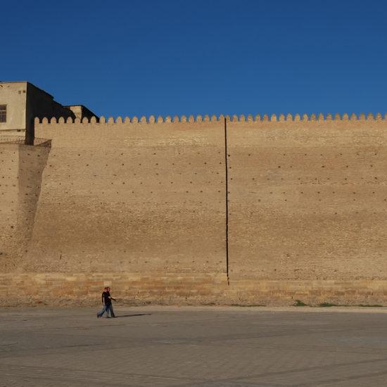 Historische Festung usbekistan buchara emir