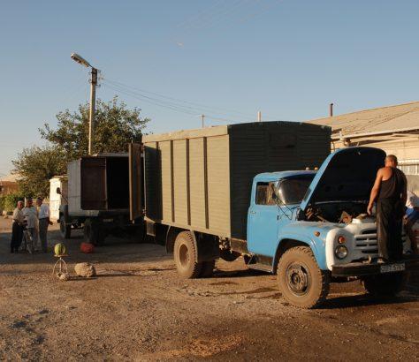 Sommer Nachmittag Usbekistan buchara