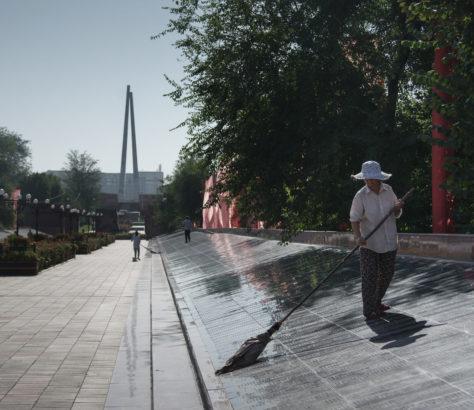 Bild des Tages Kasachstan Schymkent Denkmal