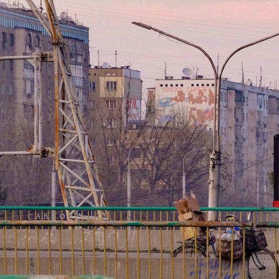 Bild des Tages Stadt Recycling Kirgistan