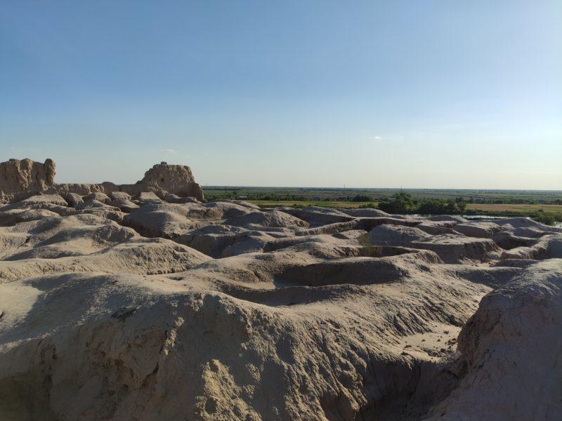 Bild des Tages Usbekistan Nukus Ruinen Festung