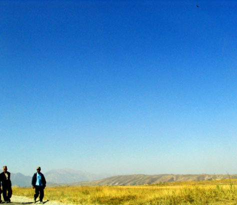 Strasse in Batken Kirgistan