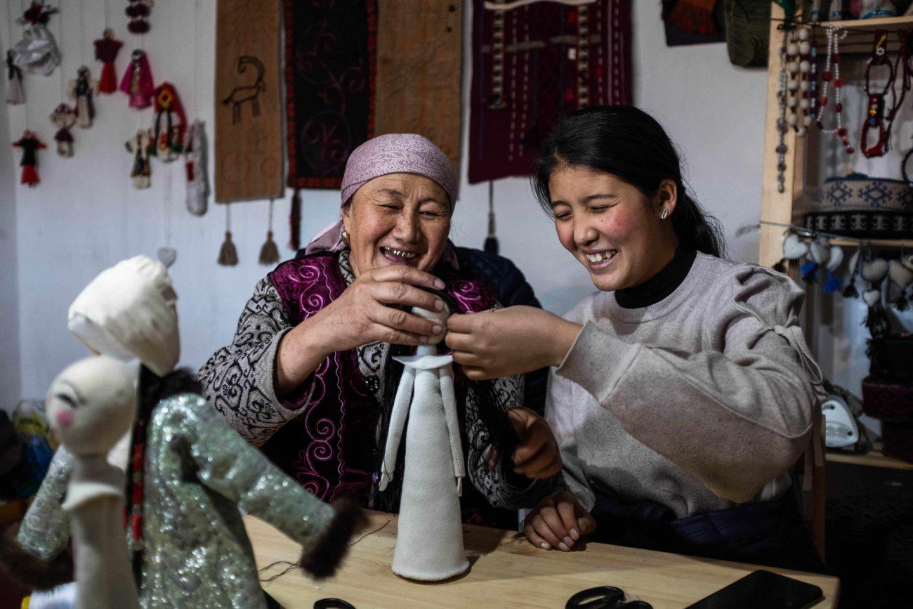 Bild des Tages Sary-Mogol Kirgistan Danil Usmanov Covid-19