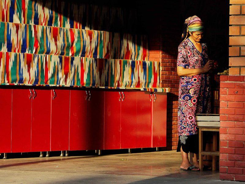 In Taschkent Basare Farben