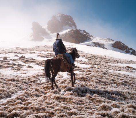 Bild des Tages, Kirgistan, Dörf, Nomade, Antoine Béguier