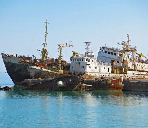 Türkmenbasi Turkmenistan Fischerei