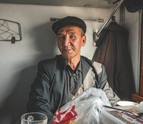 Kasachstan, Zugfahrt