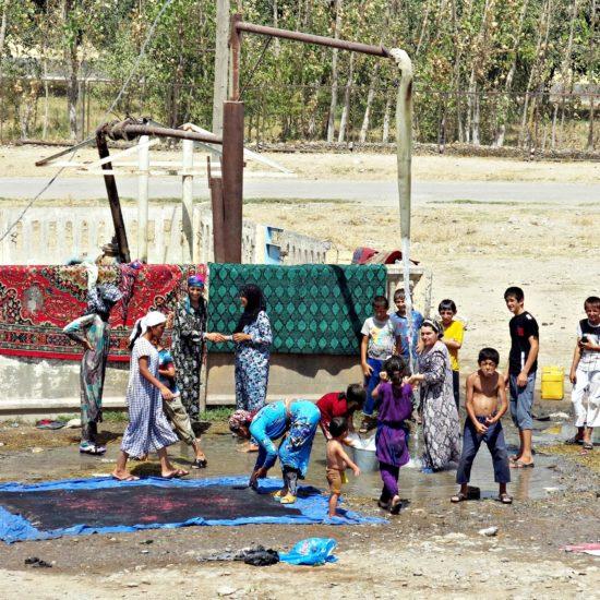 Bild des Tages Tadschikistan Kulob Kinder