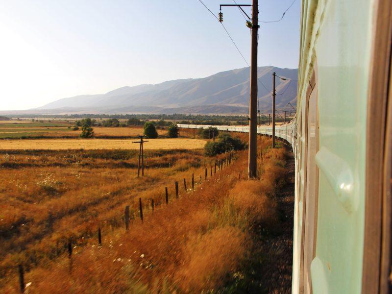 Bild des Tages Kasachstan Shymkent Zug