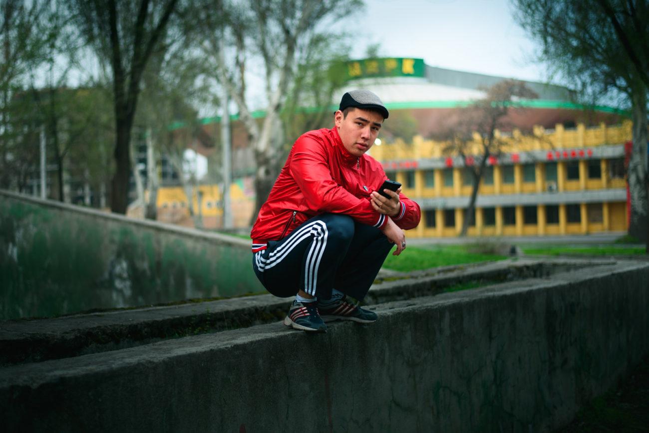 Bischkek Kirgisistans Porträt mannes