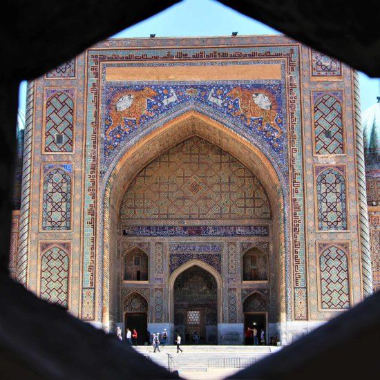 Samarqand, Registan, Usbekistan, Tür