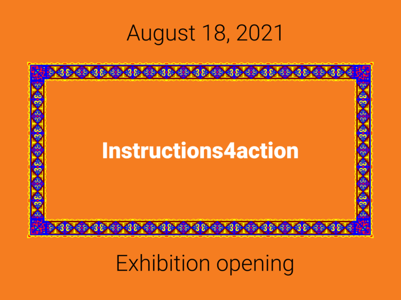 Vernissage Instructions 4 Action