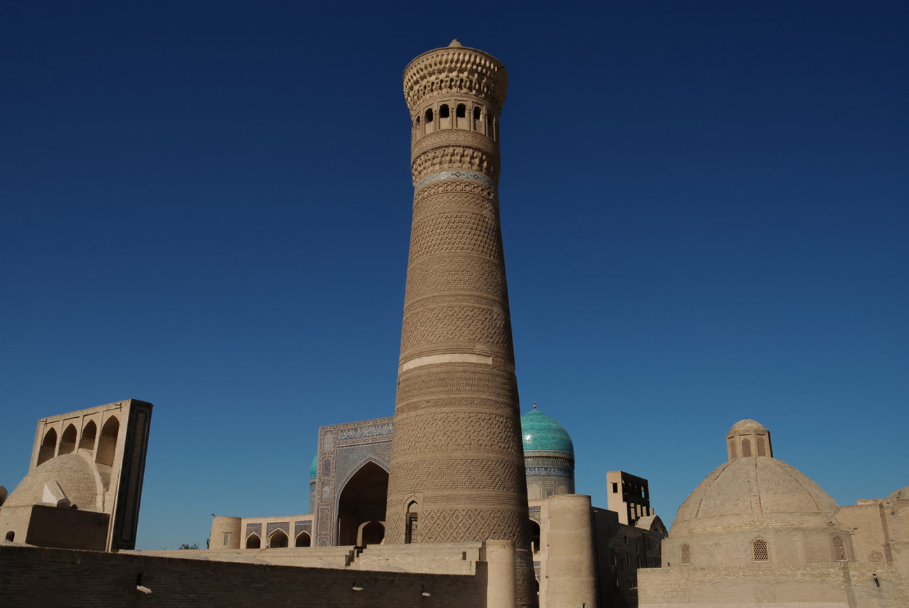 Bild des Tages, Usbekistan, Buchara, Minarett, Religion