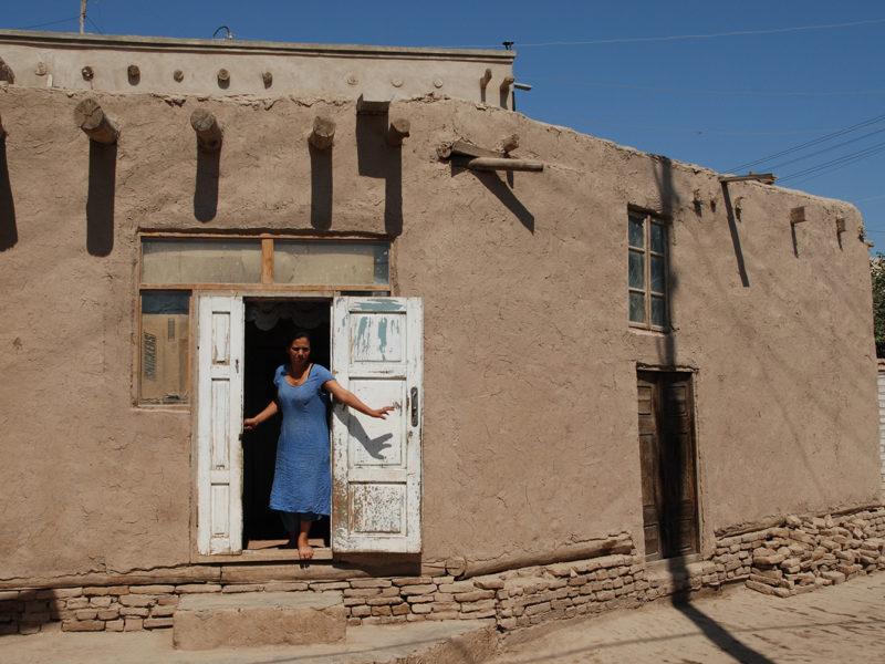 Traditionelles Haus khiva usbekistan