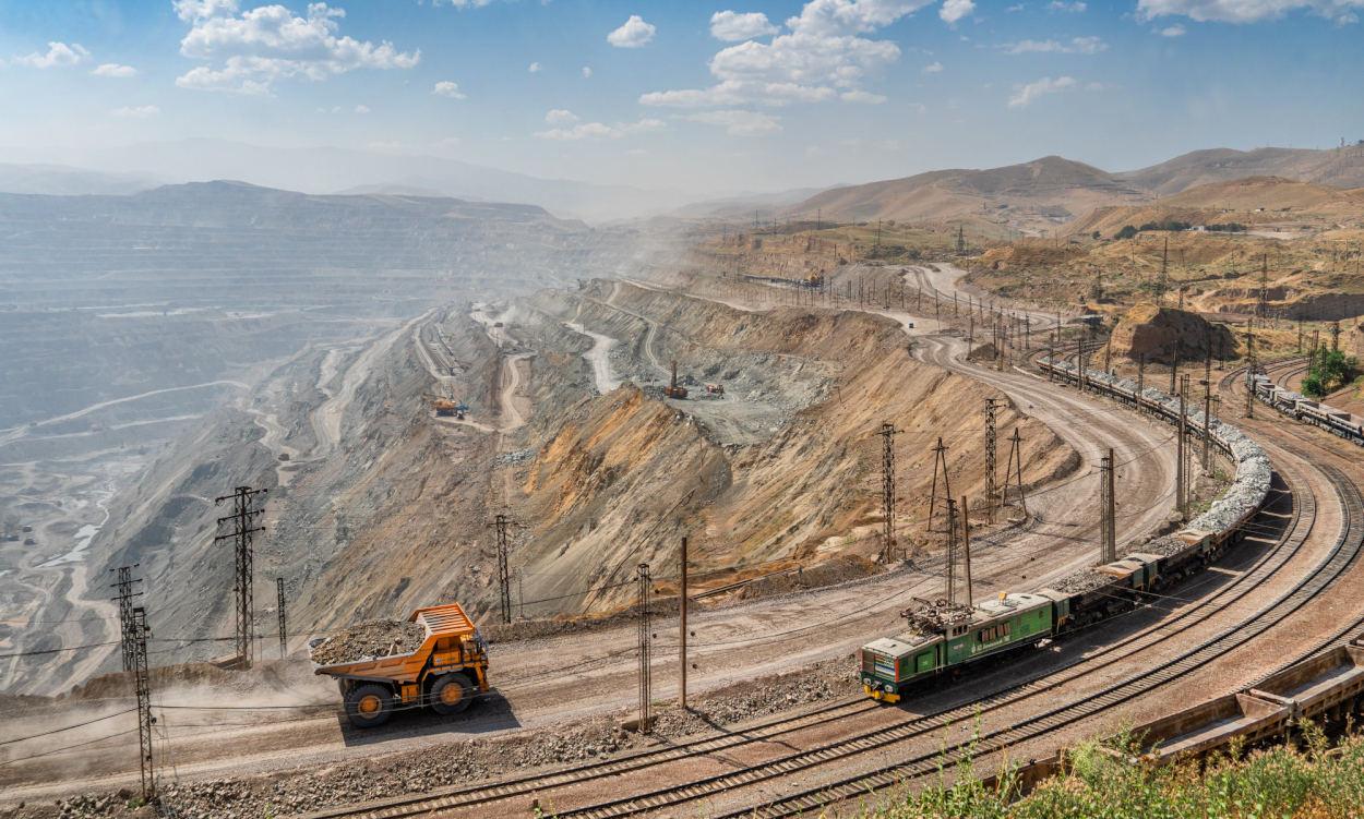 Der Kalmakyr Bergbau