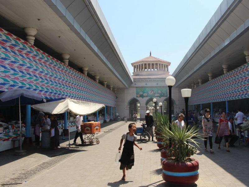Plov Chorsu Basar Taschkent Usbekistan