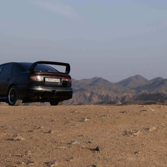 Wagen, Bild des Tages, Kasachstan, Altyn-Emel, Touristisches