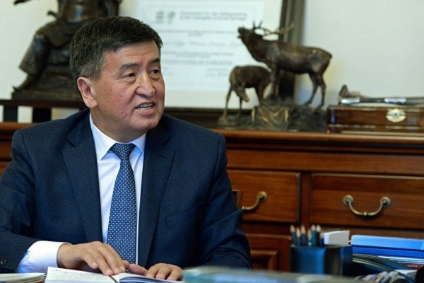 Kirgistan Premierminister Soronbay Jeenbekov
