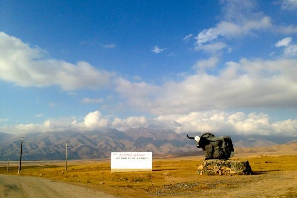 Auf den Straßen Kirgistans