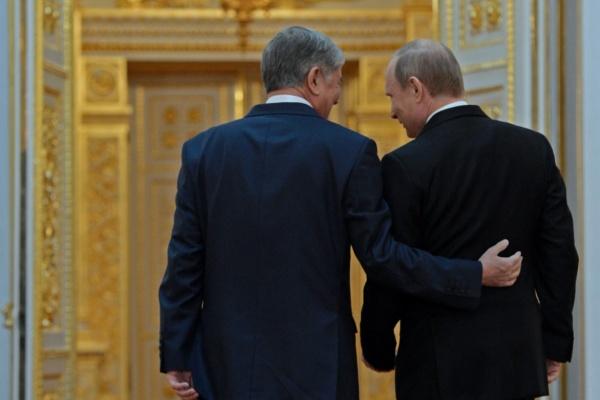 Atambajew Putin