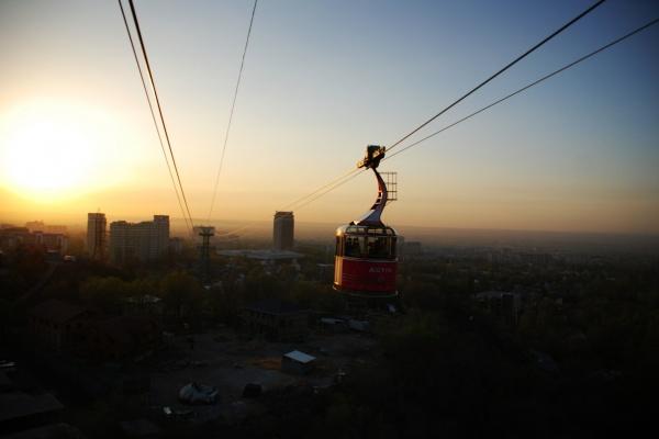 Mondänes Almaty